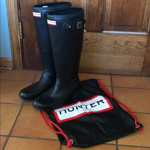 Women's Original Matte Tall Foldable Hunter Boots